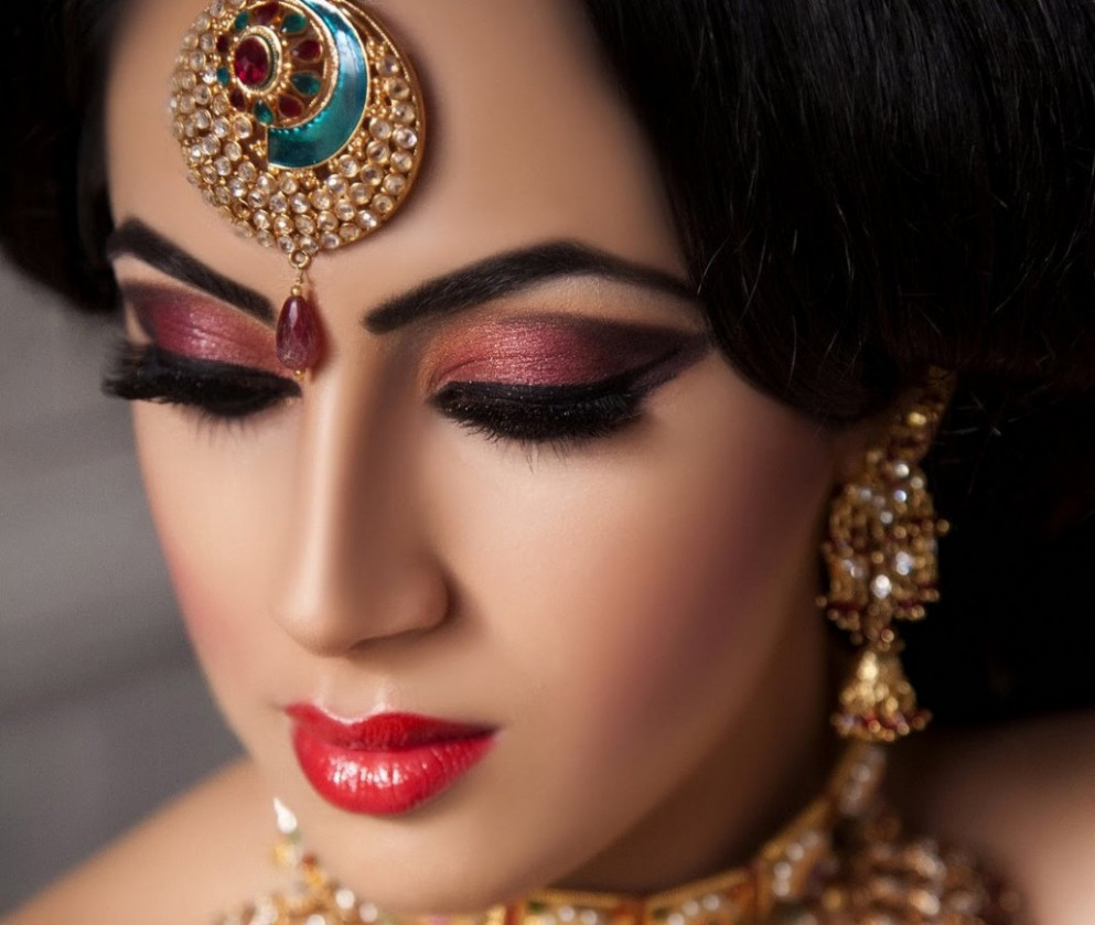 indian makeup and beauty
