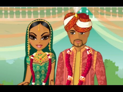 Indian Wedding Bollywood Bride: Dress Up Games - Indian ...