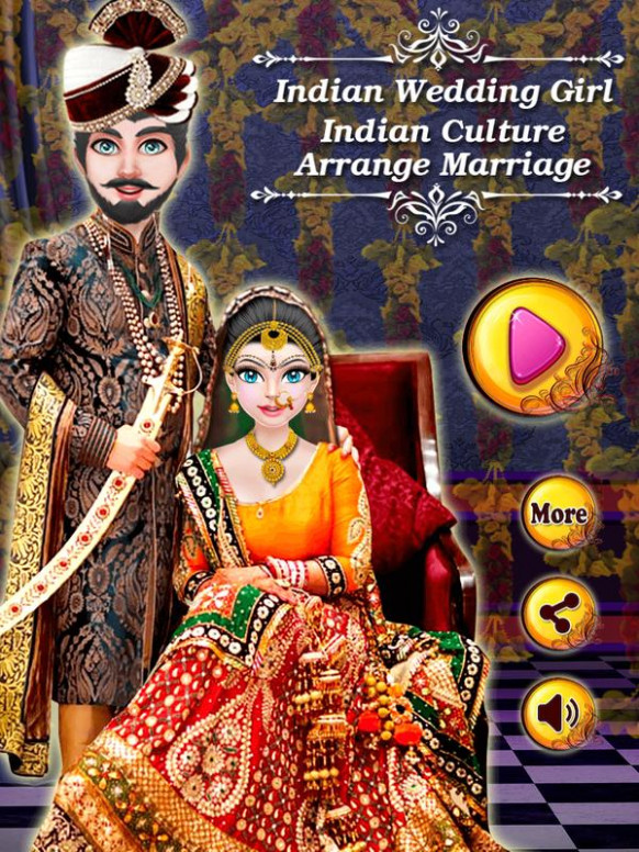 Indian Wedding Girl Arrange Marriage Culture Game for ...