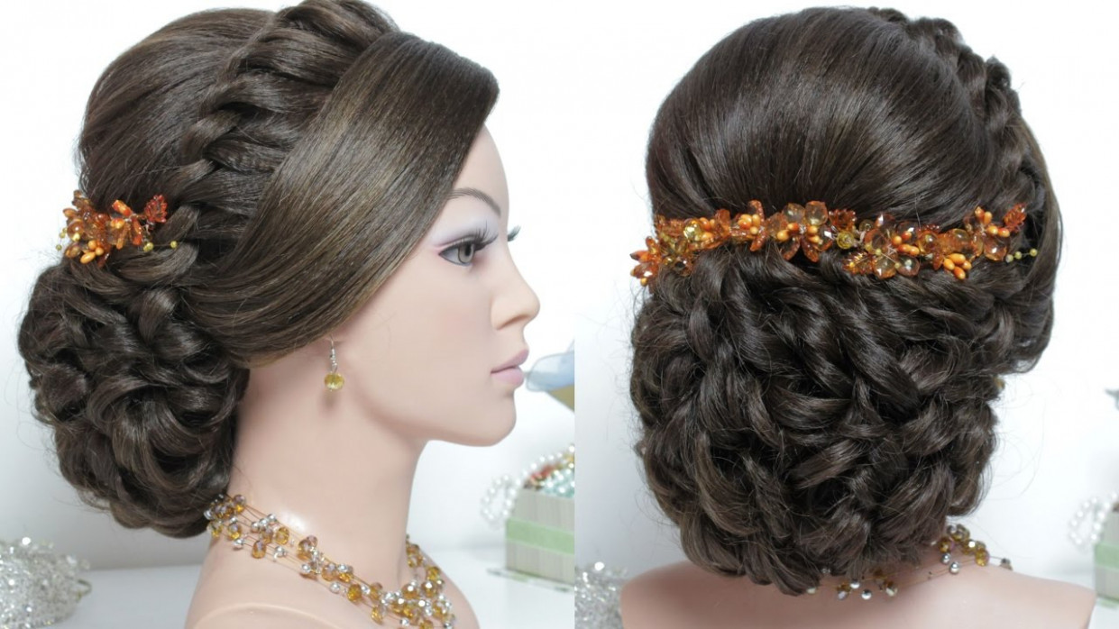 Indian Wedding Hair Style Step By Step Image Bridal ...