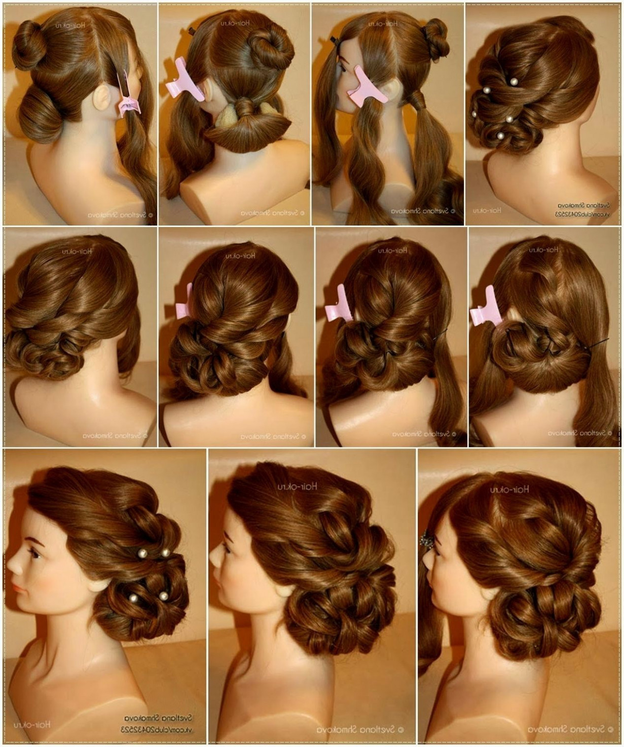 Indian Wedding Hair Style Step By Step Image - Hairstyles ...
