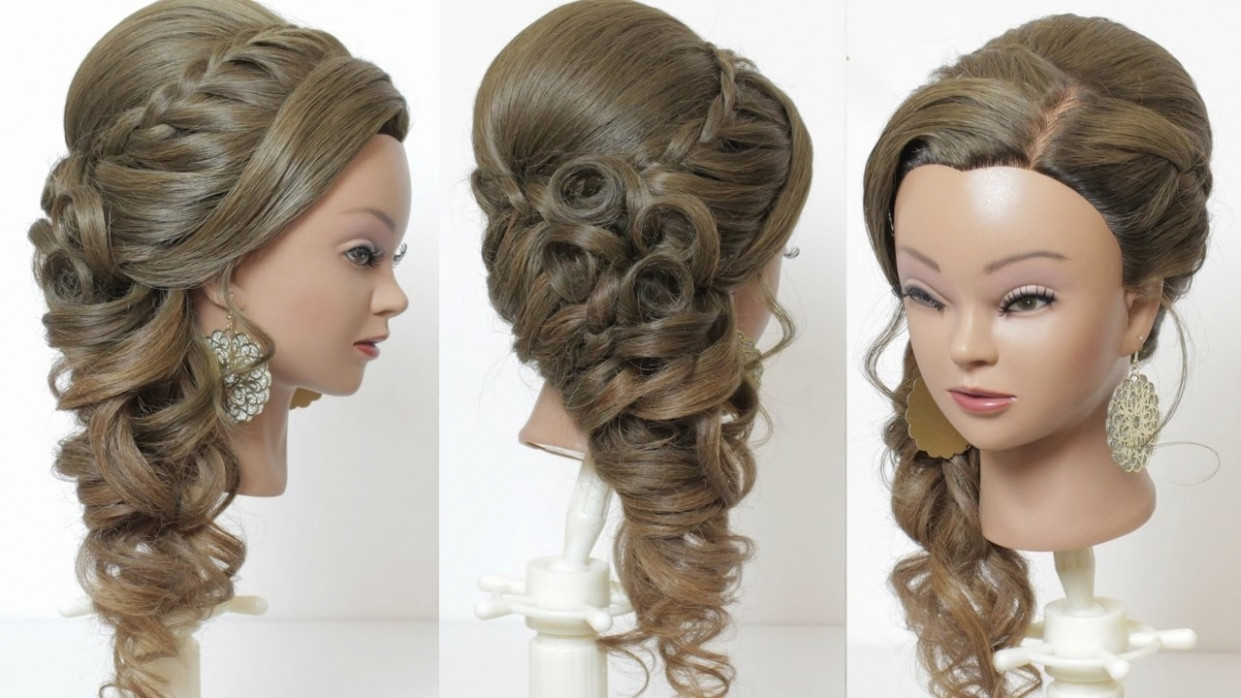 Indian Wedding Hairstyles For Long Hair Step By Step ...