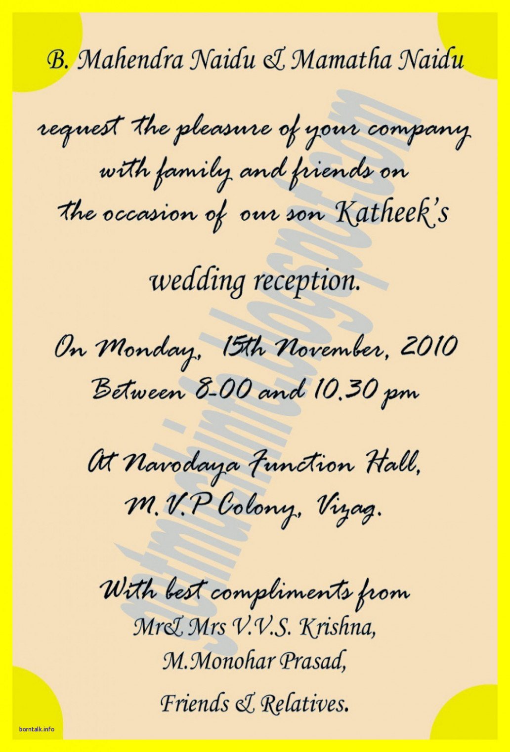 Indian Wedding Invitation Quotes For Friends In Hindi ...