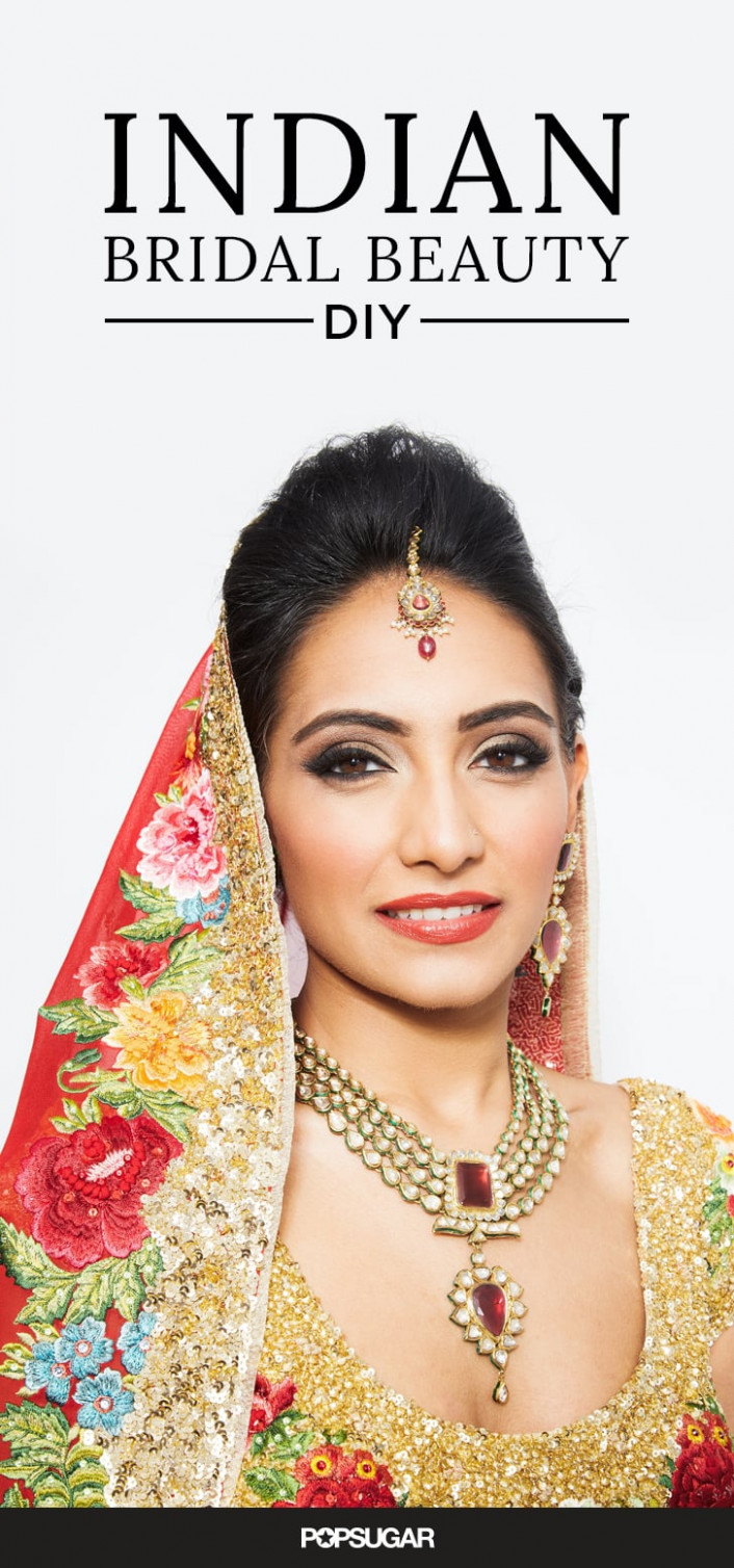 Indian Wedding Makeup DIY | POPSUGAR Beauty