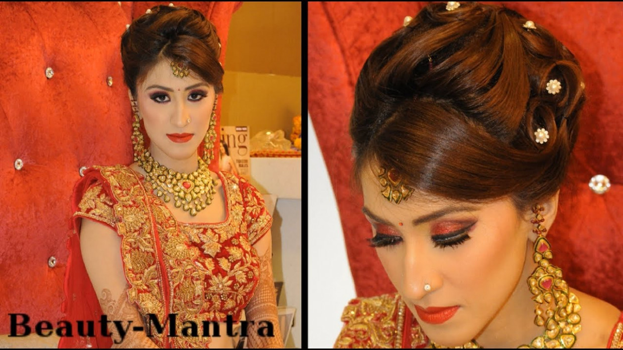 Indian Wedding Makeup - Gorgeous Reception Look - Complete ...
