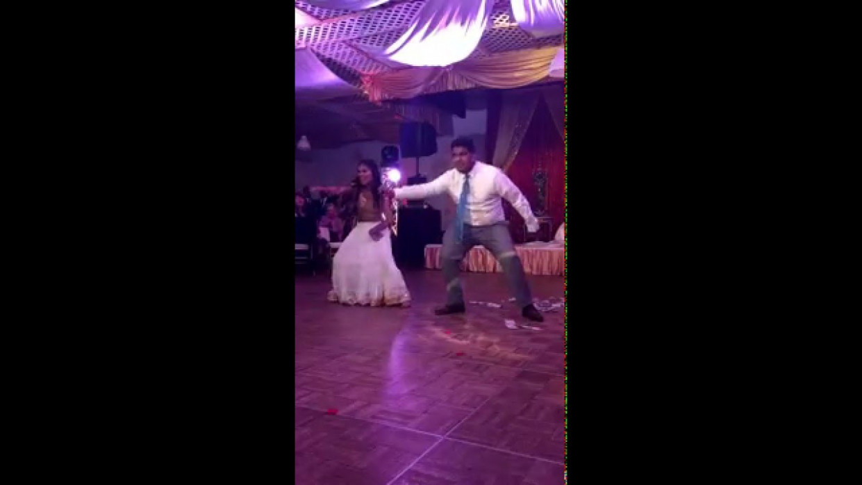Indian Wedding Reception Bollywood Dance Performance - YouTube