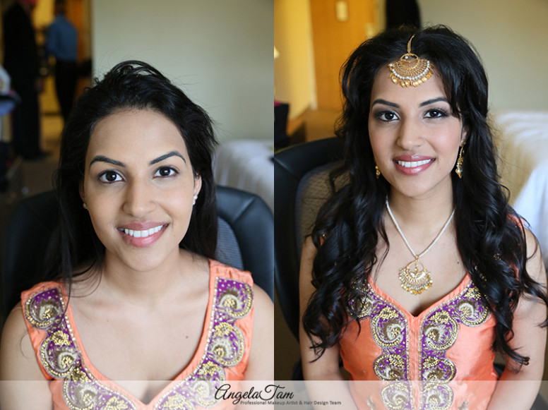 INDIAN WEDDING SOUTH ASIAN BRIDE MAKEUP ARTIST AND HAIR ...