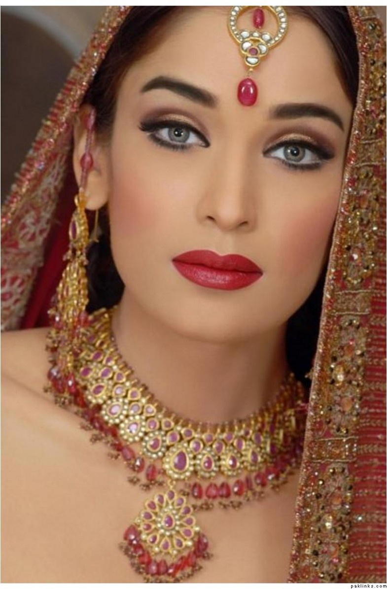 inspiration: Indian Bridal Makeup