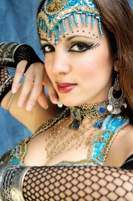 Inspiring belly dance makeup looks - Free belly dance classes