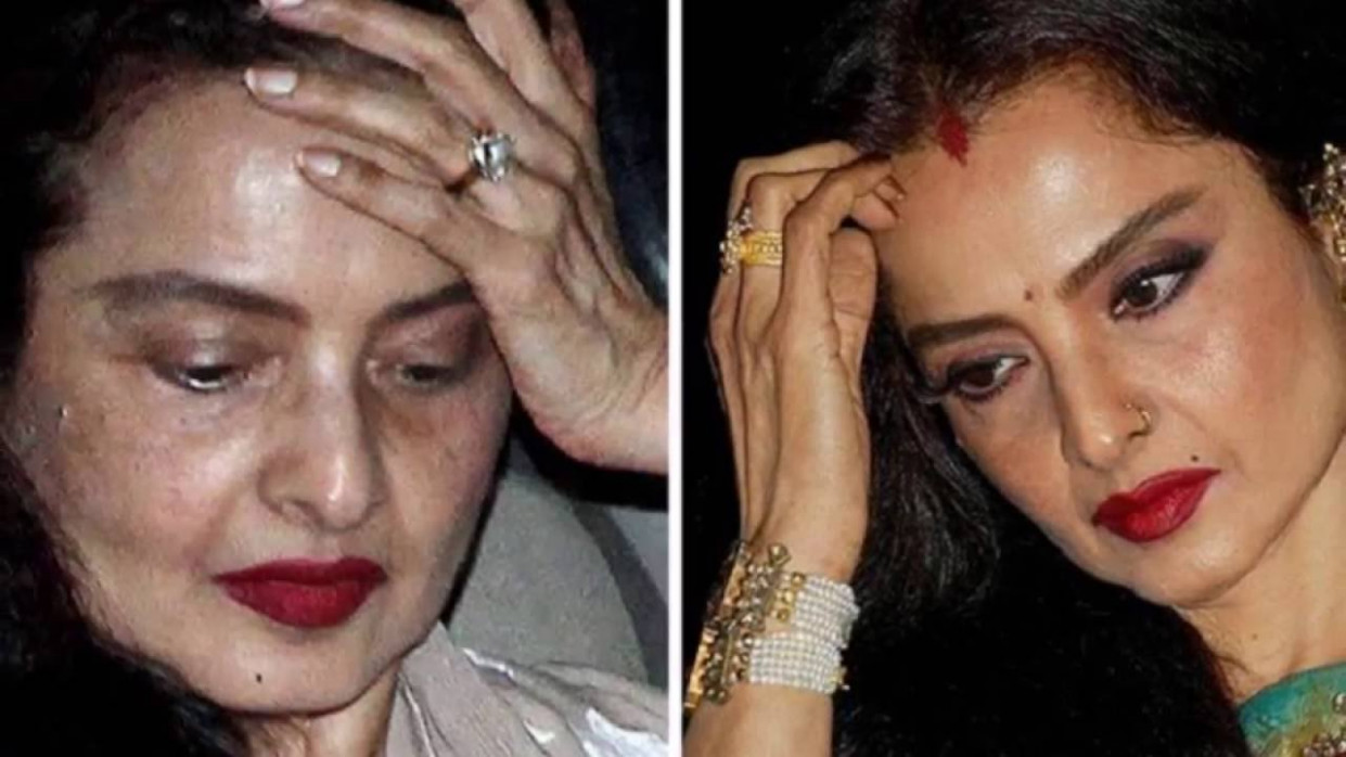 Is Bollywood Actress Rekha herself cause of her own ...