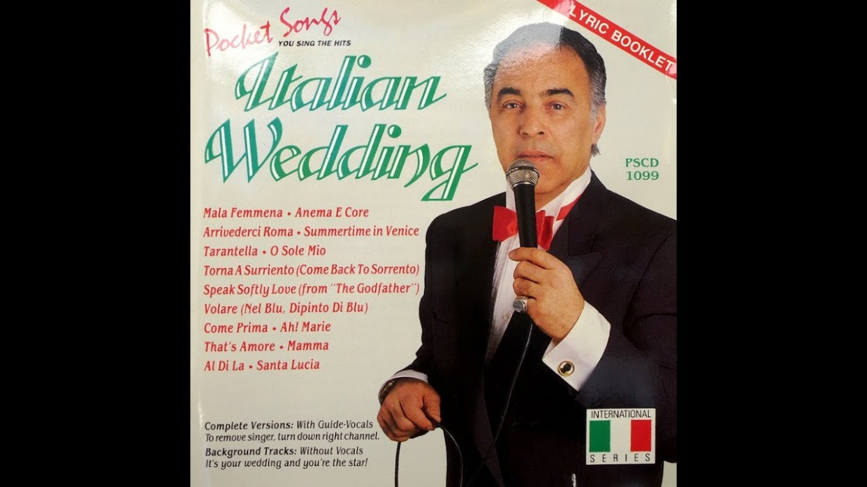 ITALIAN WEDDING - Songs and Dances of Italy (With Guide ...