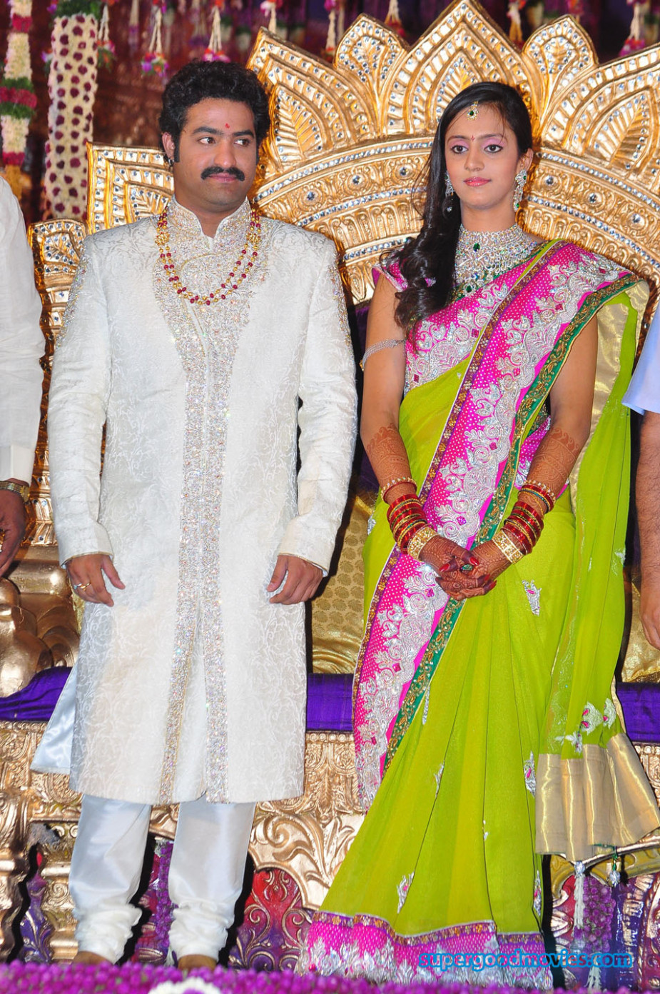 Jr NTR and Lakshmi Pranathi Marriage Photos | Tollywood ...