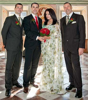 Just Married, Says Celina Jaitley