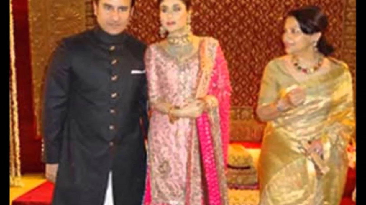 Kareena Kapoor wedding and marriage reception video - YouTube