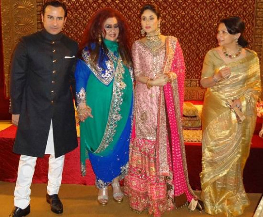 Kareena Kapoor Wedding Pictures With Saif ~ Wallpapers ...