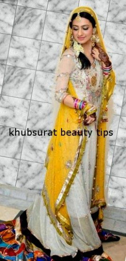 Khubsurat Beauty Tips: Beautiful Bridal Ubtan/Mehndi ...