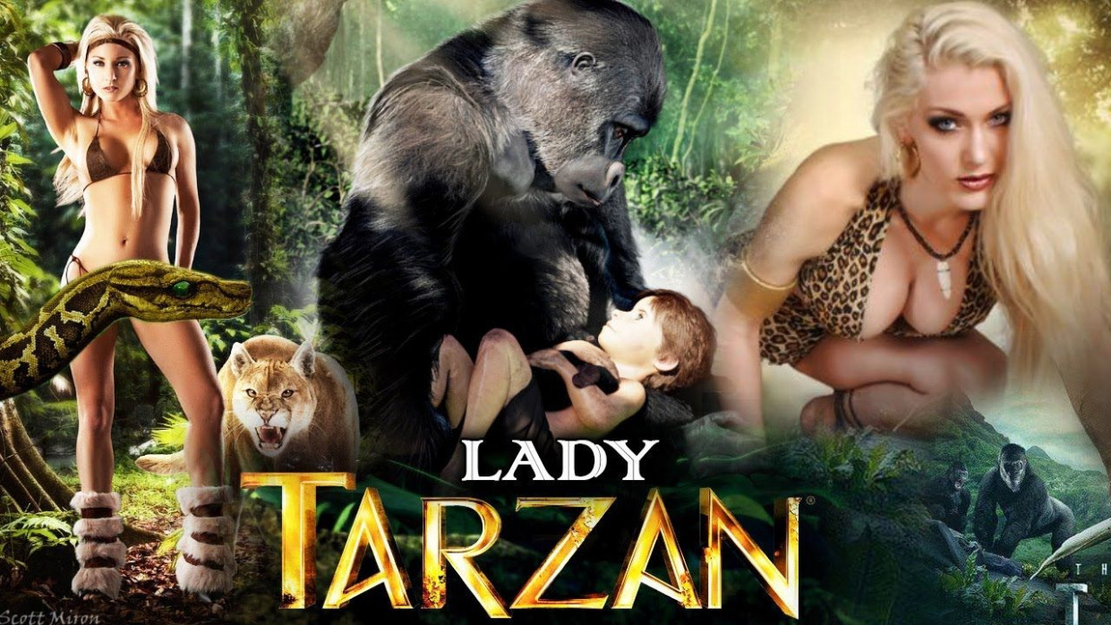 LADY TARZAN 2017 | New Hollywood Movie In Hindi | Full HD ...