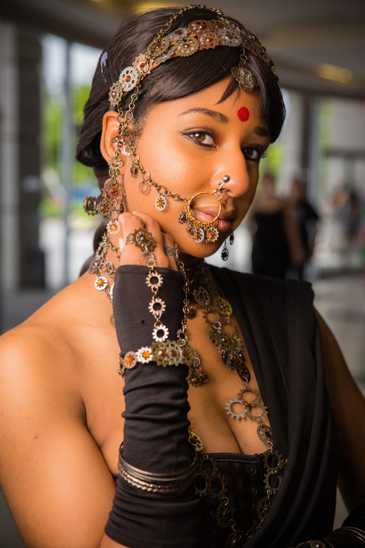 ladymakeupsiren: Bollywood steampunk: Sunahala... - People ...