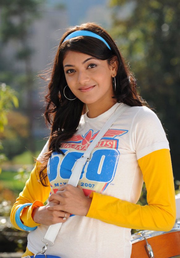 Latest Cute Images of Telugu actress Kajal Agarwal ...