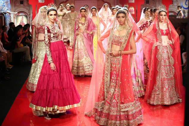 Latest Indian Bridal Fashion Week 2015 in Hyderabad ...