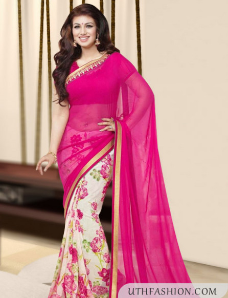Latest Indian Saree Designs 2015 - Women Clothes