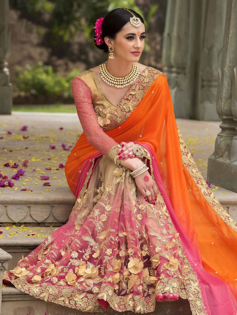 Latest Indian Wedding Sarees Collection - All For Fashions ...