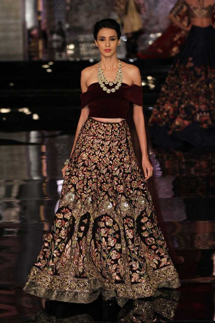 Latest Lehenga Designs For The Modern Bride - Beauty and ...