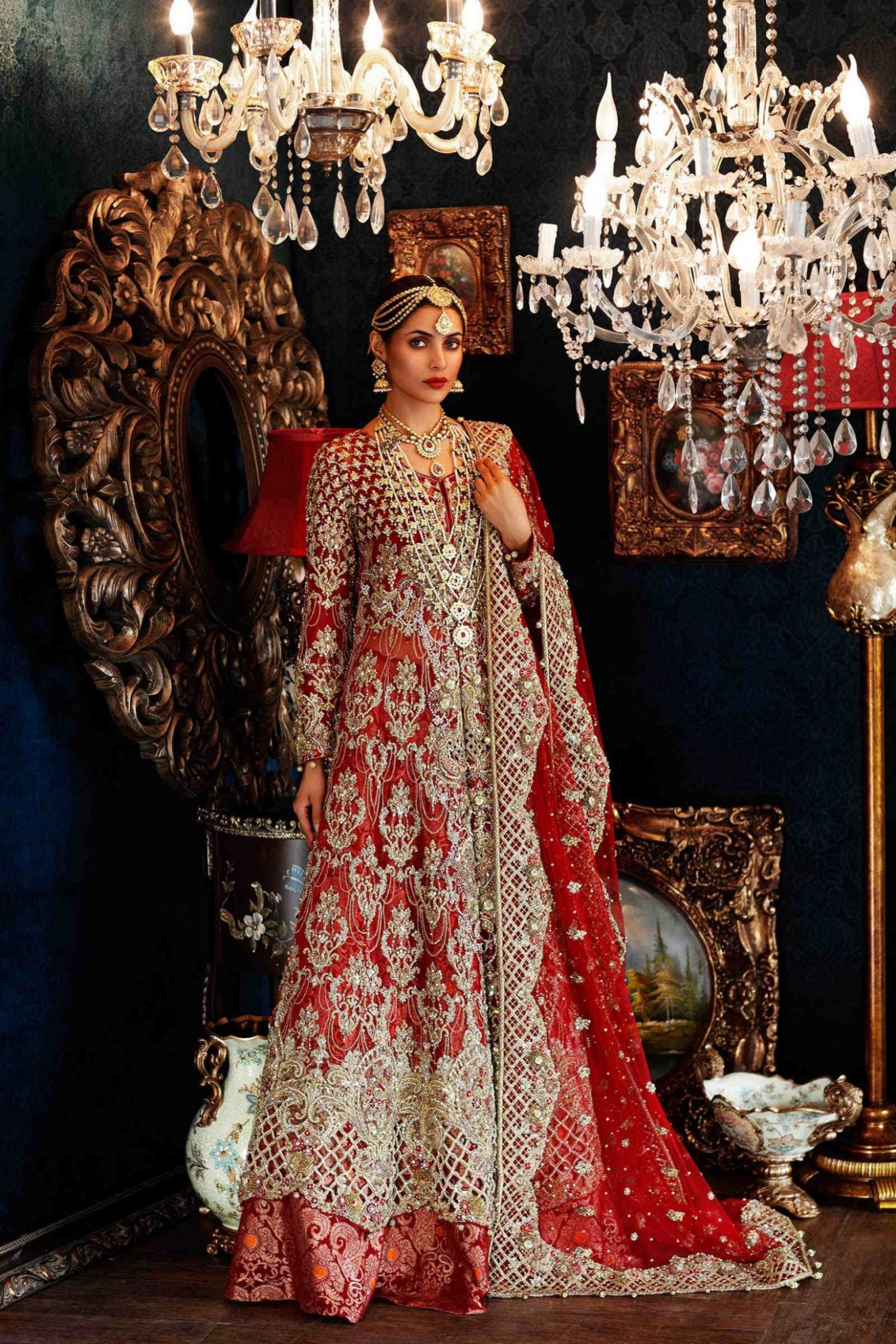 Latest Pakistani Bridal Dresses 2017 For Barat Day ...