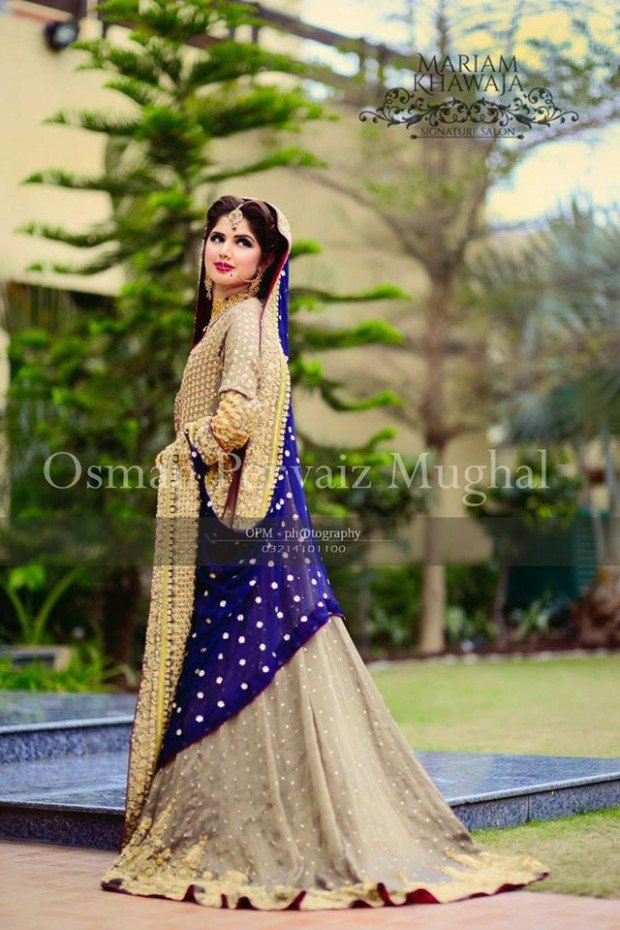 Latest Pakistani Bridal Dresses Pictures 2017-2018 ...