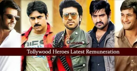 Latest Remuneration of Tollywood Heroes | Telugu Cinema ...