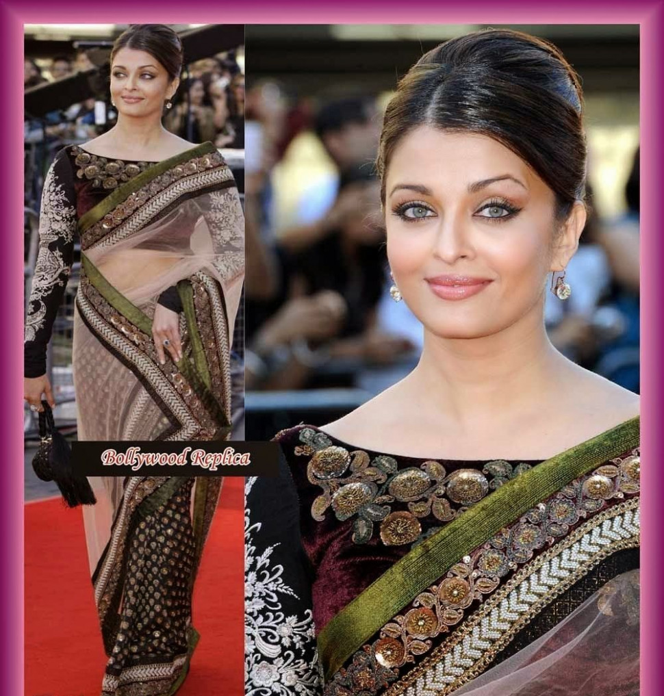 Latest saree blouse designs: Bollywood saree collections ...