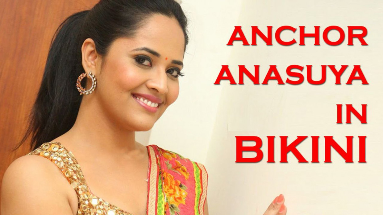 Latest Tollywood Film News - Anchor Anasuya in Bikini ...