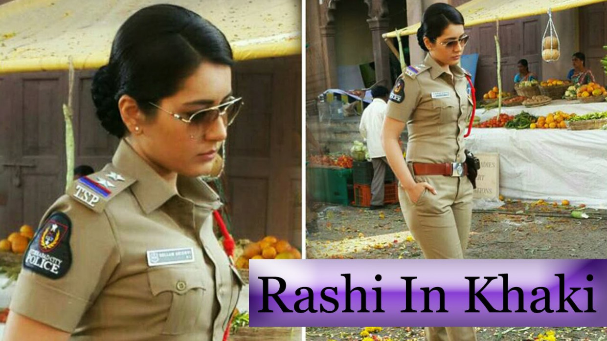 Latest Tollywood Film News - Rashi Khanna in Khaki Dress ...