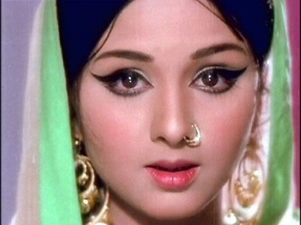 Leena Chandavarkar, a Bollywood actress, in the 60s ...