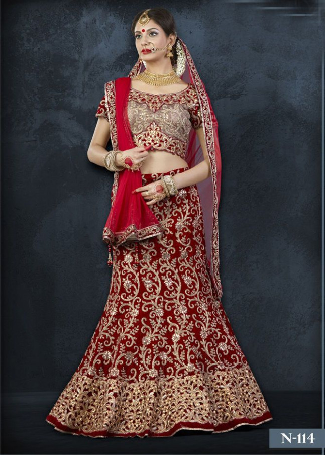 Lehenga Choli Designer Wedding Dress Indian Bollywood ...