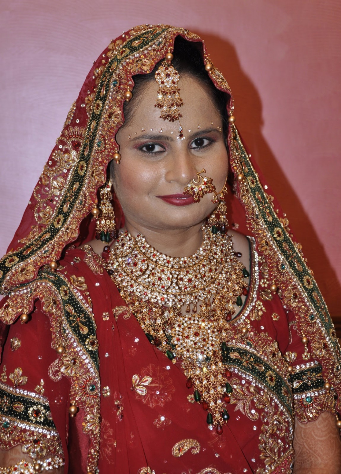 Local style: Such different Indian brides