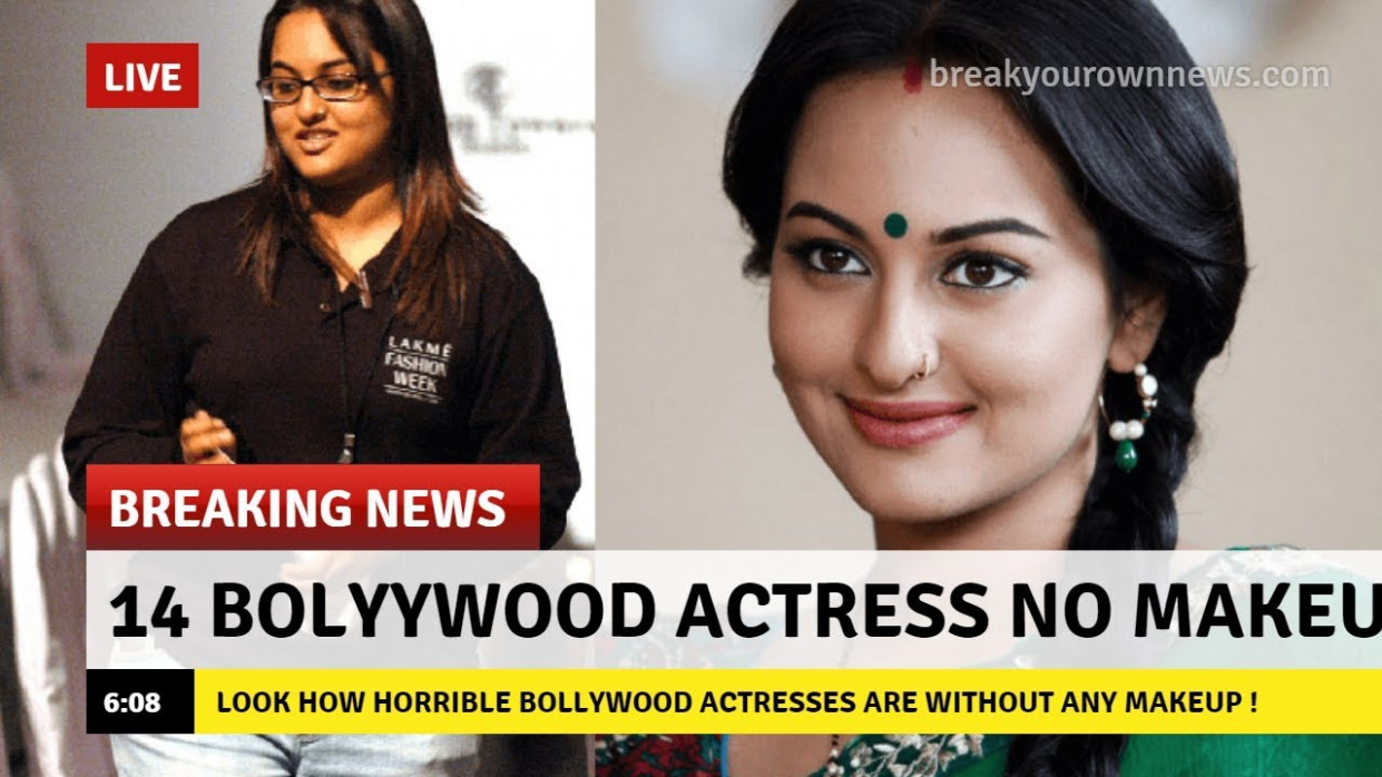 Look REAL Face of Bollywood Actress without Makeup ...