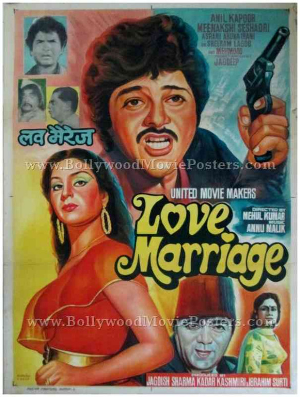 Love Marriage | Bollywood Movie Posters