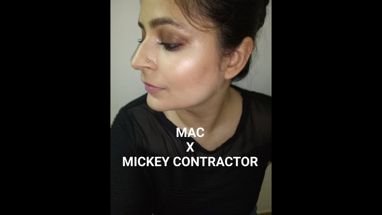 MAC X Mickey contractor | One Brand Tutorial | Bollywood ...
