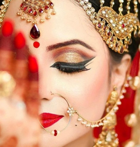Make Up Tips for Indian Bridal Wear | Indian Fashion Blog