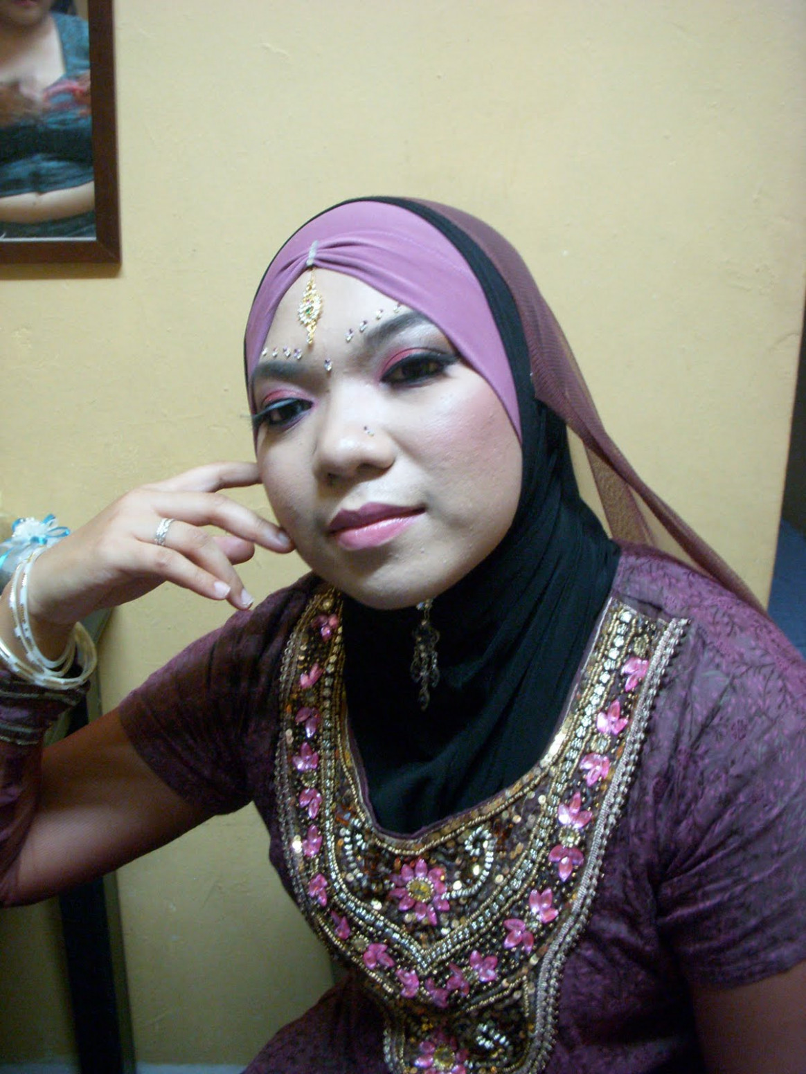 MAKEUP DINNER TEMA BOLLYWOOD