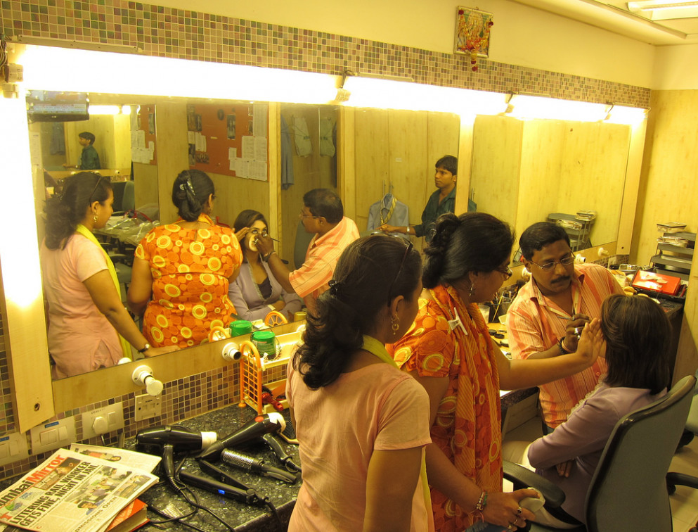 Makeup Room | Getting ready for Bollywood TV.... with the ..