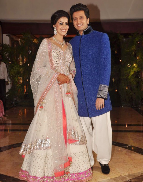 MALAR WORLD: Actress Genelia and Riteish marriage Album
