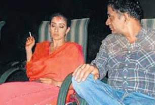 Manisha Koirala smokes on her wedding | Iviewz ...