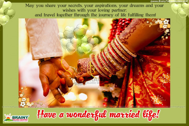 MARRIAGE WISHES QUOTES IN ENGLISH LANGUAGE WITH COUPLE HD ...