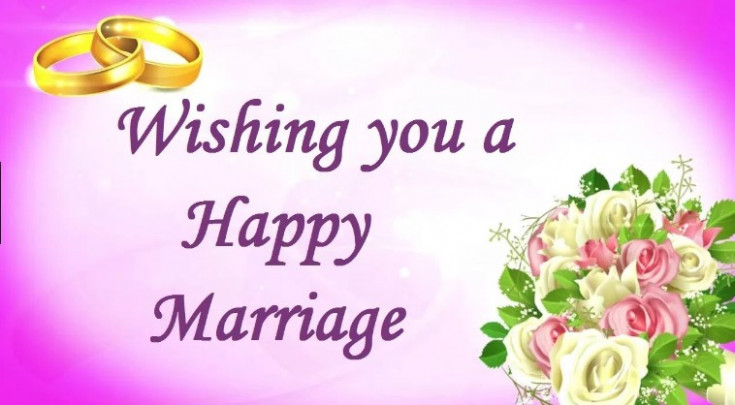 Marriage wishes sms want to would like in your word for ...