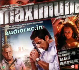 Maximum CD / DVD : movie Maximum CD / DVD songs Maximum CD ...