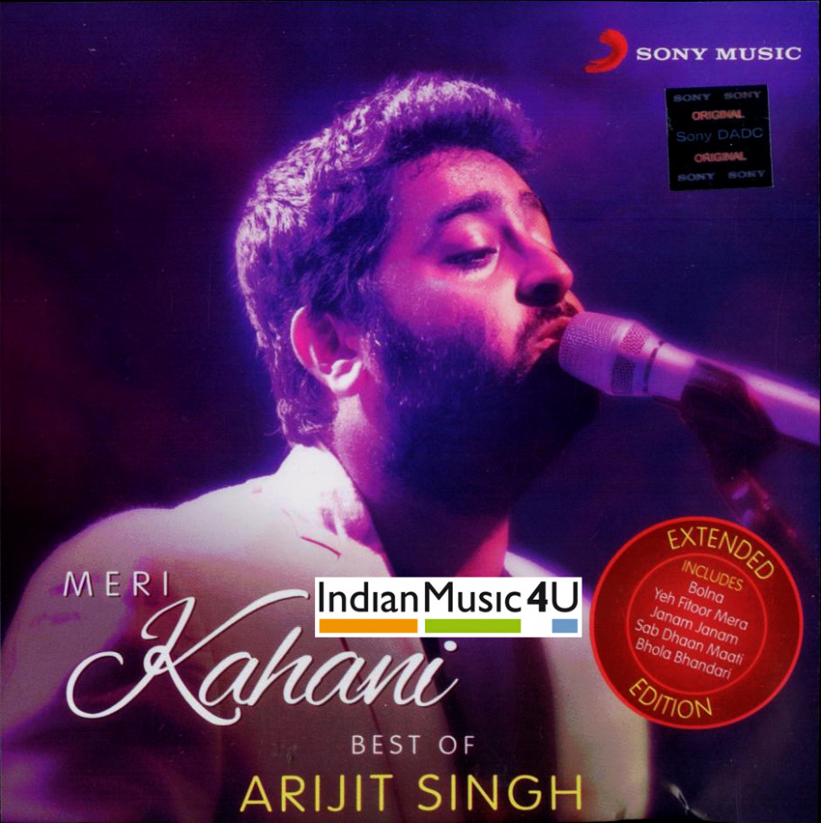 Meri Kahani Arijit Singh CD / MP3 : movie Meri Kahani ...