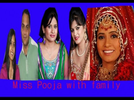 Miss Pooja with family | Bio data | Brother | sister ...
