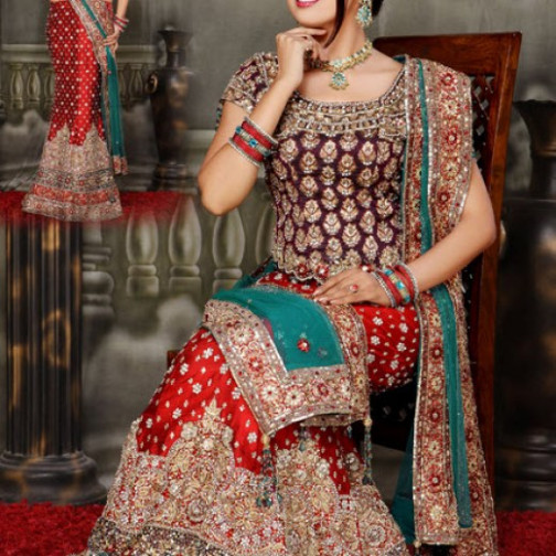 Most Beautiful Indian and Pakistani Bridal Pictures ...